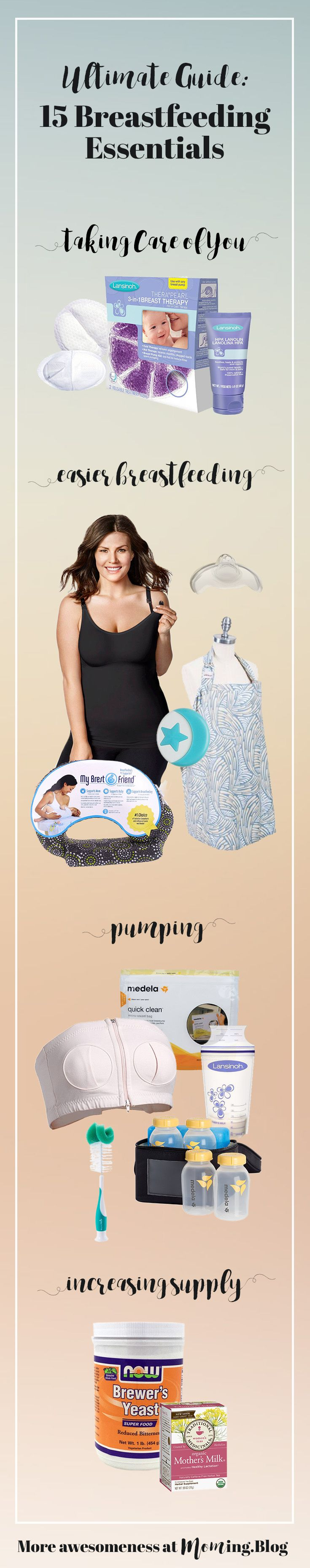 15 Breastfeeding Essentials   In just a few days it will be World  Week and in celebration of every rockstar breastfeeding mom, I wanted to share 15 invaluable breastfeeding products.