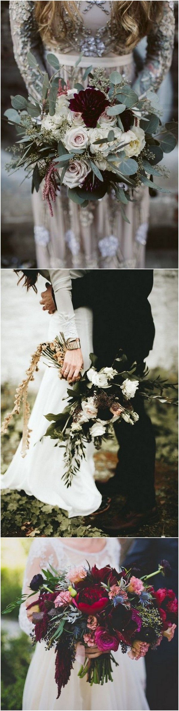 trending moody wedding bouquets for 2018 trends #weddingflowers #weddingbouquets #weddingideas #weddingfloral