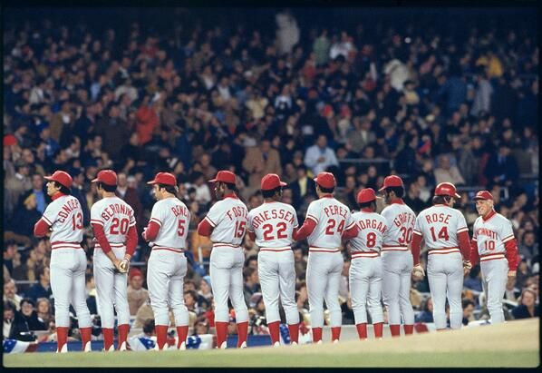 1976 Cincinnati Reds | My passion: Baseball! | Pinterest