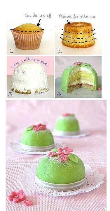 Mini prinsessa tårta