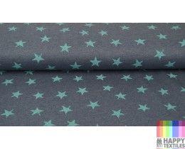 Online jogging ster turquoise, jeans kopen? Bestel nu bij Happy Textiles!