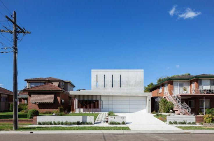 Diseño abierto de Concord House un espacio moderno y único