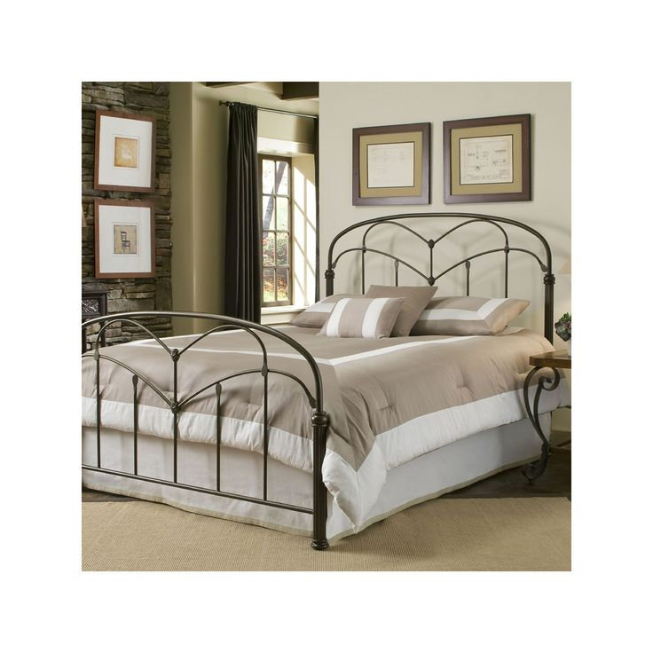Fashion Bed Group Pomona California King Bed, Brown Oth
