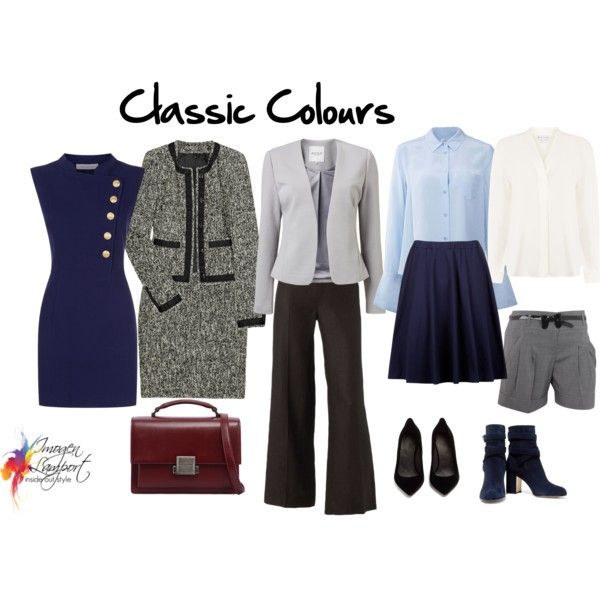 Understand why you choose certain colours to wear - it's based on your personality traits - here are the Classic colours