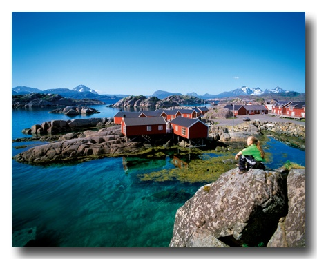 Les Îles Lofoten, Norvège :))
