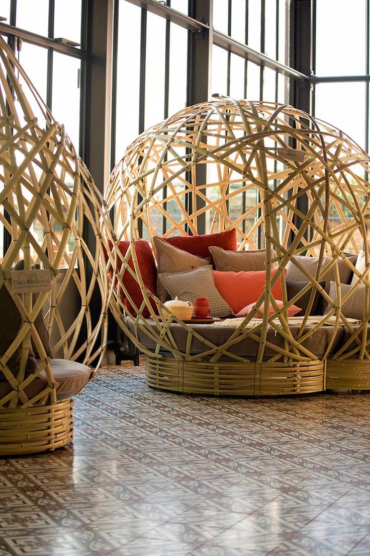 les 25 meilleures id es de la cat gorie deco bambou sur pinterest am nagement de jardin. Black Bedroom Furniture Sets. Home Design Ideas