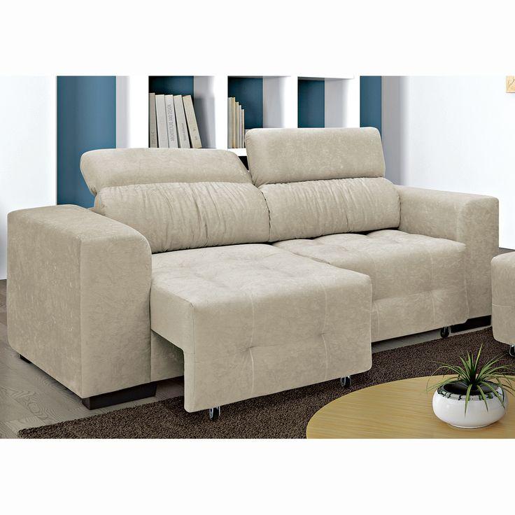 Tem coisa melhor do que se jogar em um #sofá super #confortável? Os modelos #reclináveis são ideais para proporcionar mais bem estar para você e sua família, já que, você consegue ajustar o encosto da forma que achar melhor.