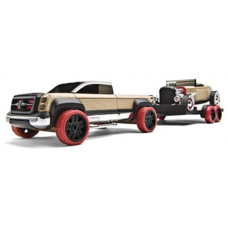 Automoblox T900 Truck, Trailer and a Hot Rod... best kids toy ever... the cars completely dismantle right down to the tires off the wheels!