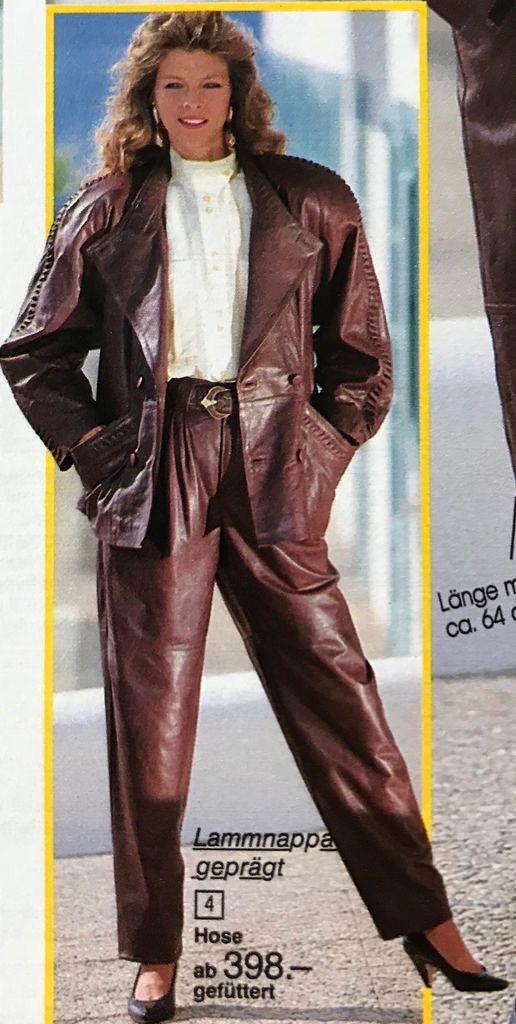 282e6daab31a Klassisch konservativ im Stil der 80er!   Leder mode 80er in 2019 ...