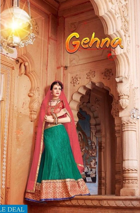 Make YourSelf Proud!!! Explore and Buy Now nandita Gehna Wholesales Exclusive and Best Lehenga Choli Catelogs Collection at Best Rate from Online only at Textiledeal.in