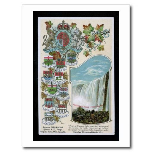 Horseshoe Falls, Niagara Falls, Canada Vintage Postcards