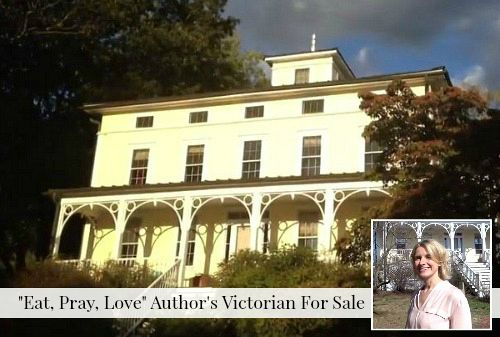 Eat Pray Love Author Elizabeth Gilbert Selling Frenchtown Victorian ANYONE want to move to Frenchtown, NJ??? I would love to show this house!!!