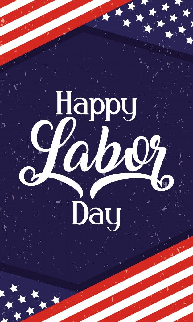 What to take with you to the ho. Happy Labor Day Celebration With Usa Flag in 2021 | Print ...