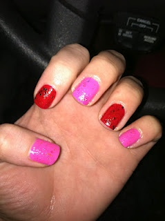valentine nails groupon