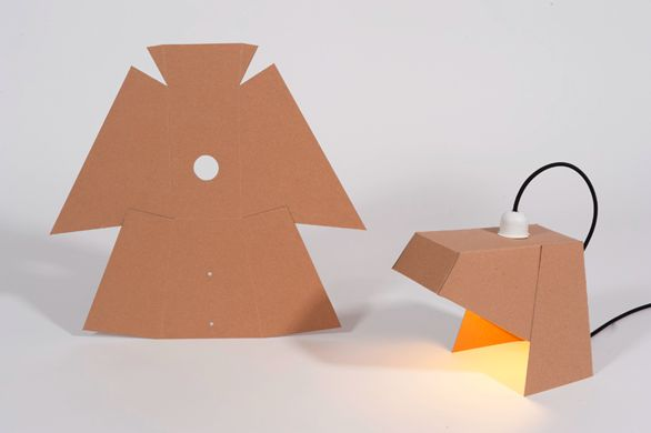 MyLamp: carboard lamps