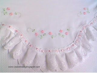 Izabel Biali Embroidery: TURN BABY BLANKET--inspiration