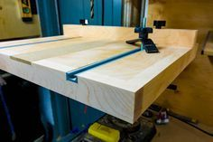 Simple Drill press table
