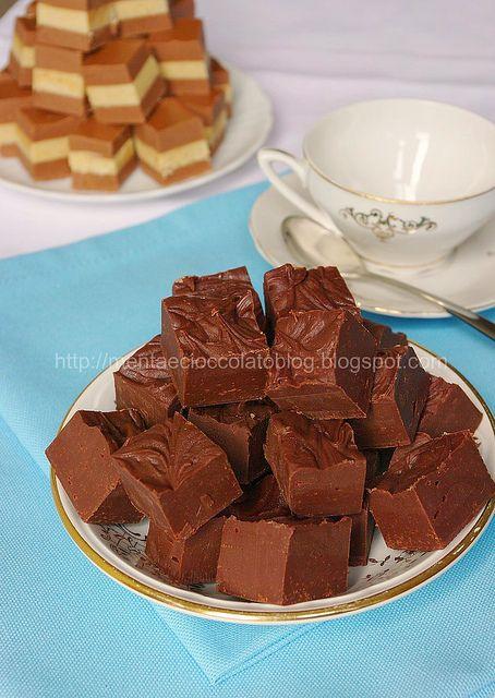 Fudge al Cioccolato by MentaeCioccolato, via Flickr - con latte condensato zuccherato