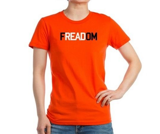 62 best banned books week merchandise images on pinterest for Books printed on t shirts