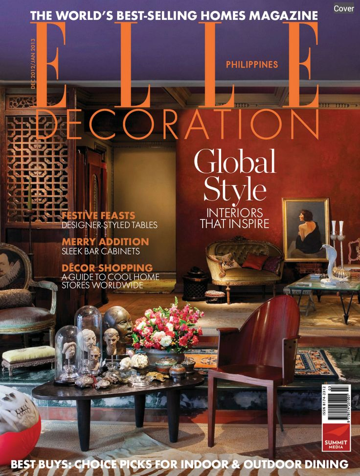 78 best images about elle decor international covers on for Four decor international srl