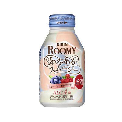 キリン ROOMY(ルーミー) ふるふるスムージー <ブルーベリー&ラズベリー> - 食@新製品 - 『新製品』から食の今と明日を見る!