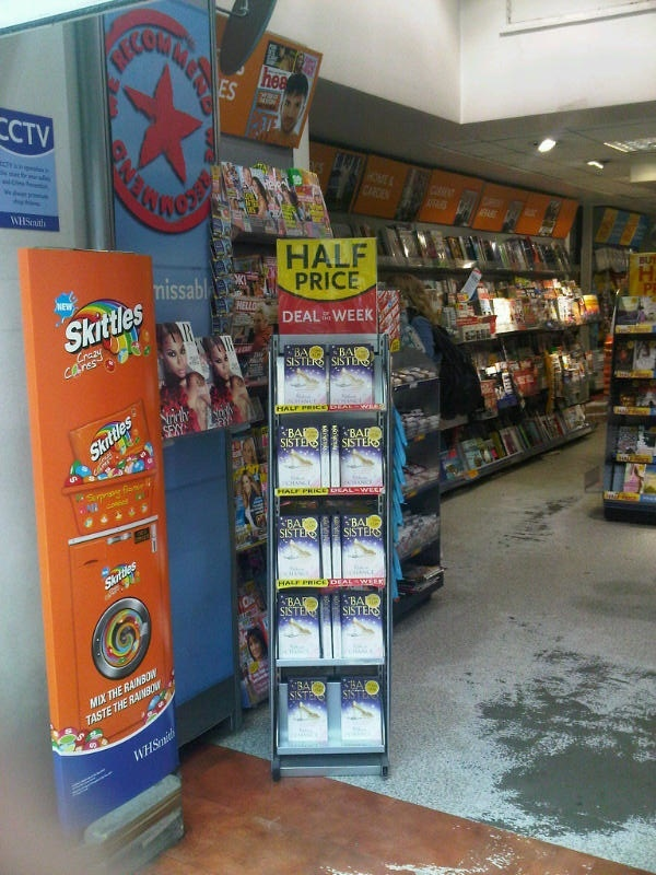 My own stand at WH Smith! Deal of the Week! Very exciting.
