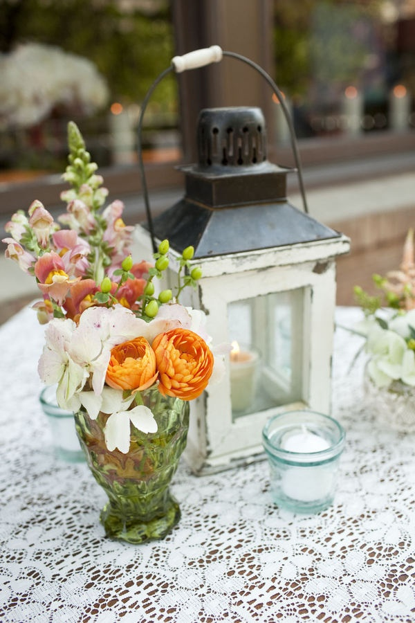 Vintage Lanterns Could Also Be Incorporated Onto The Head Table Around Containers Of Flowers For WeddingsLantern CenterpiecesWedding
