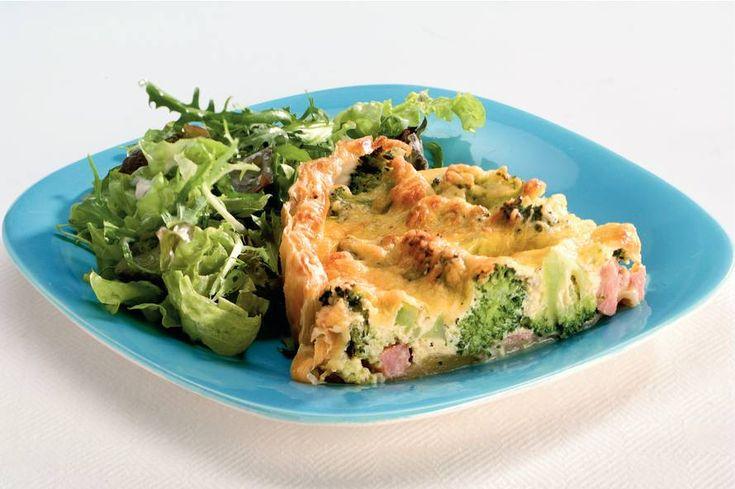Hartige taart met broccoli en seizoenenpeper - Recept - Allerhande