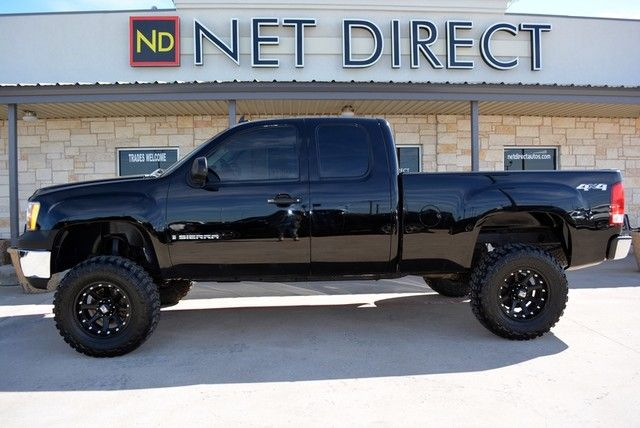 2008 gmc sierra 1500 sle1 extended cab lifted 4wd fort. Black Bedroom Furniture Sets. Home Design Ideas