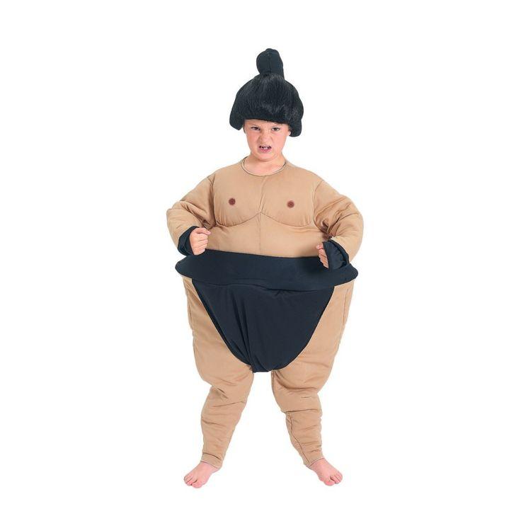 Sumo Wrestler Child Boys Halloween Costume - Boys 8-10