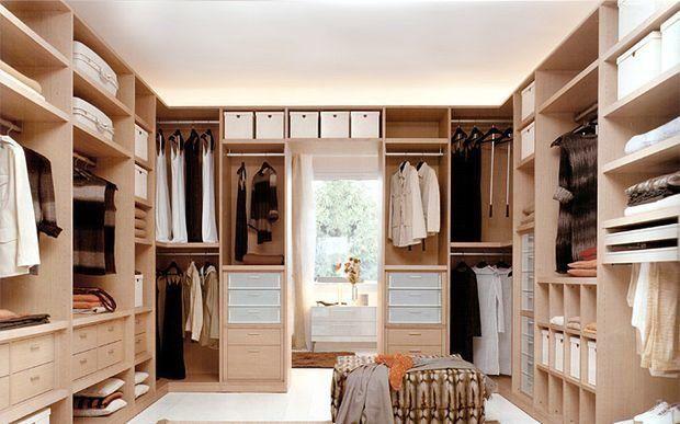 Фотография:  в стиле , Гардеробная, Декор интерьера, Квартира, Дом, Планировки…