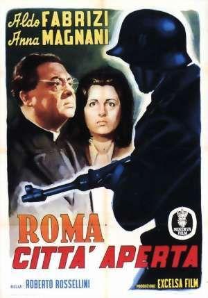 Roma citta' aperta di Roberto Rossellini. La Resistenza a Roma raccontata da uno dei maestri del Neorealismo. Indimenticabile interpretazione di Anna Magnani.