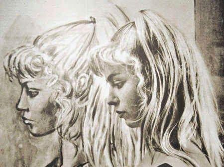 Πορτρέτο και Sylvette David-Corbett