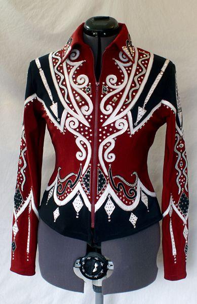 showmanship jacket | Showmanship Jacket Rail Jacket Paradise Creations | eBay