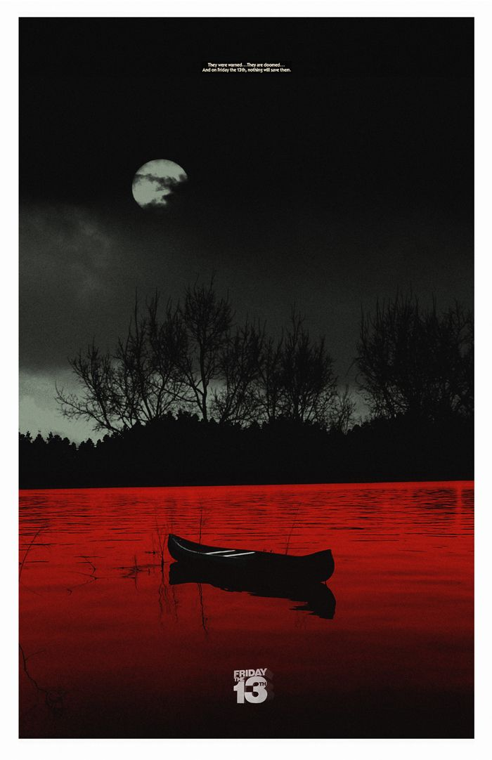 Friday the 13th Minimalist Poster