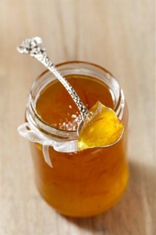 Золотистый лимонный мармелад