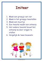lesmateriaal en andere onderwijstips van juf Jantine: poster coöperatieve werkvormen