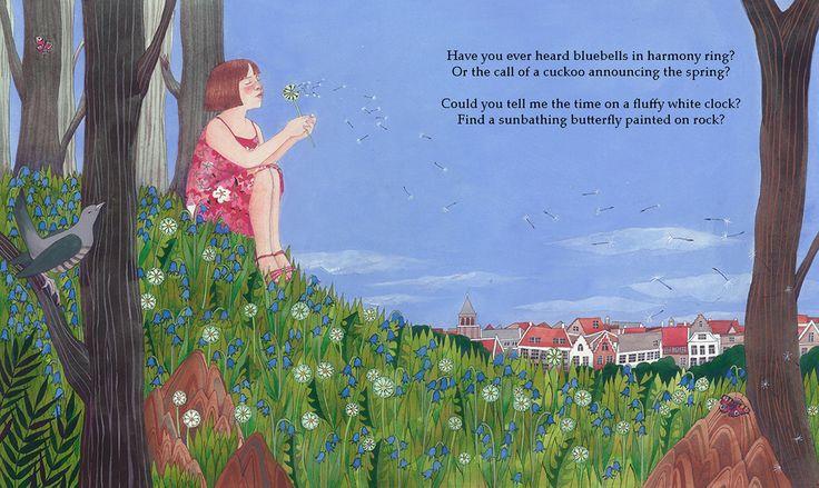 An illustration for Seasons of Wonder by Julia Key (pub. September 2017 by Lionhudson)
