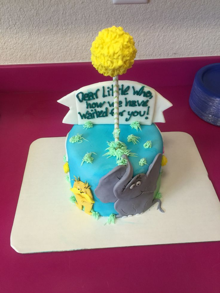 Cake Designs For A Babyshower