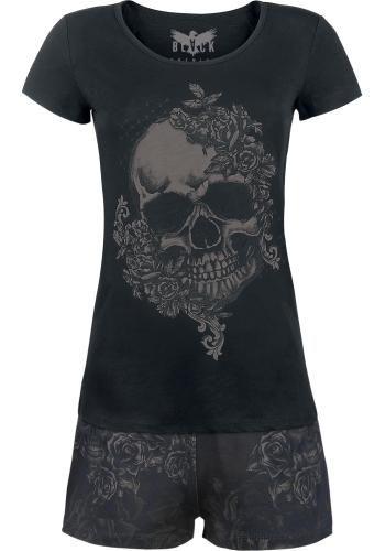 Skull & Roses Pyjamas by Black Premium ~ EMP