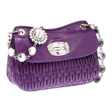 STAGE' CLOQUET NAPPA LEATHER CLUTCH
