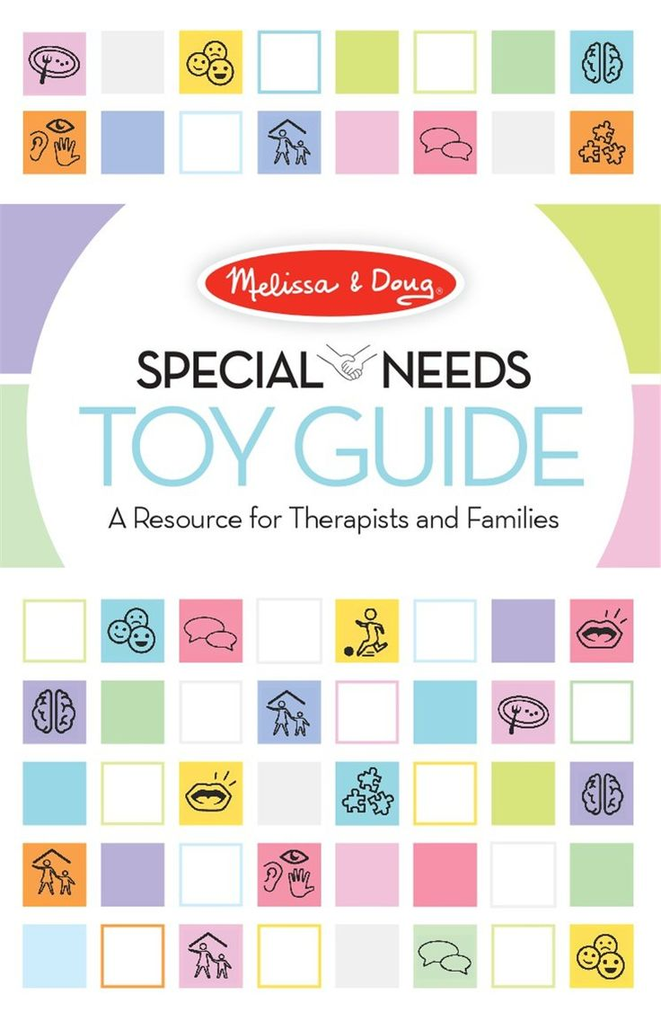 Melissa and doug now has a special needs toy guide. Their toys have always been good for kids with special needs, but this helps spell out how...