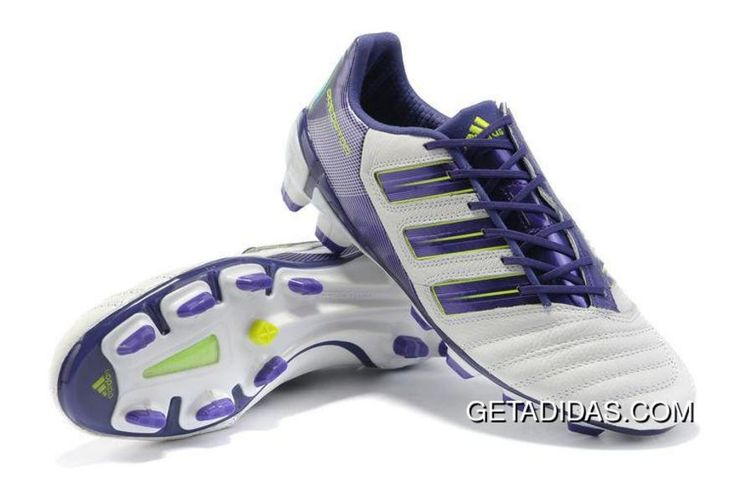 Buy Famous Brand Competitive Price Adidas Adipower Predator TRX FG White  Purple For Travel Replica New TopDeals from Reliable Famous Brand  Competitive Price ...