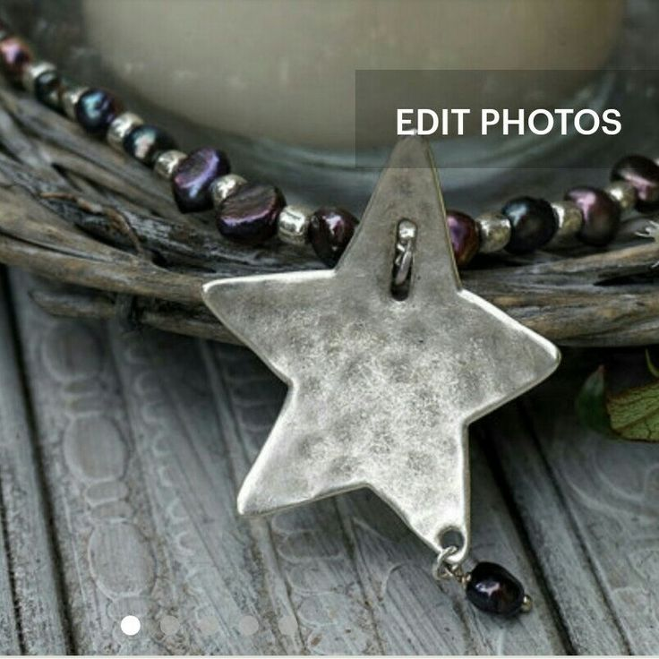 Back in stock,  lovely freshwater pearls and star necklace