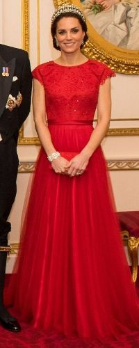 8 Dec 2016 - Duchess of Cambridge attends Diplomatic Reception at Buckingham Palace. Click to read more