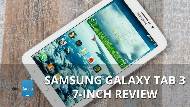 Samsung Galaxy Tab 3 7-inch Review http://mylinksentry.com/fj91
