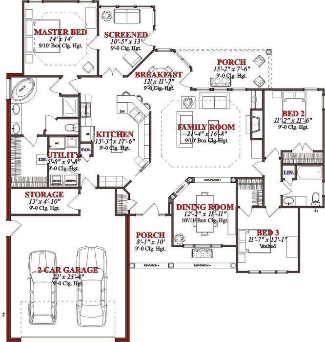 15 best Floor Plans images on Pinterest Design floor plans, Home - copy barn blueprint 3
