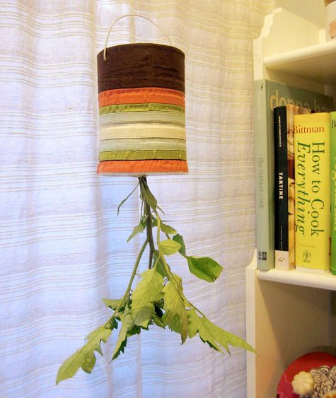 Or an upside-down planter. | 27 Ways To Eat Like An Adult In College