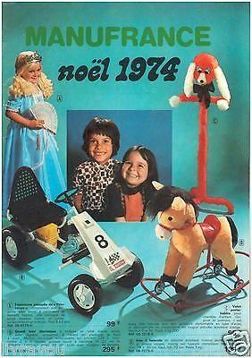 ▬►Catalogue  Manufrance JOUETS de 1974 Poupées Gégé_Barbie_Meccano_Lego_Trains