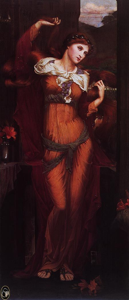 Morgan Le Fay by John Roddam Spencer Stanhope